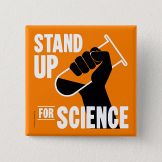 Stand Up for Science Test Tube Button