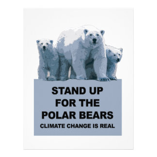 Stand Up for the Polar Bears Letterhead