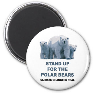 Stand Up for the Polar Bears Magnet