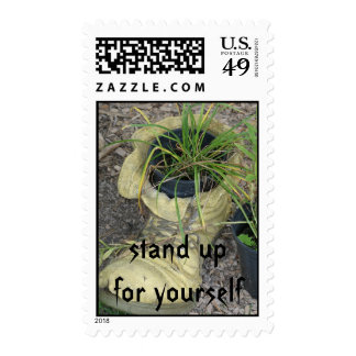 Stand Up for Yourself Postage Stamps