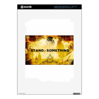 Stand Up iPad 3 Decal