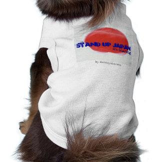 STAND UP JAPAN DOG by dakeayana Shirt