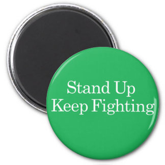 Stand Up Keep Fighting Wellstone Magnet