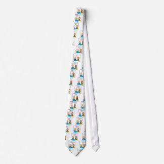 Stand-Up Neck Tie