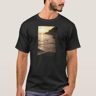 Stand up paddle boarding sunset San Sebastian T-Shirt