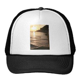 Stand up paddle boarding sunset San Sebastian Trucker Hat