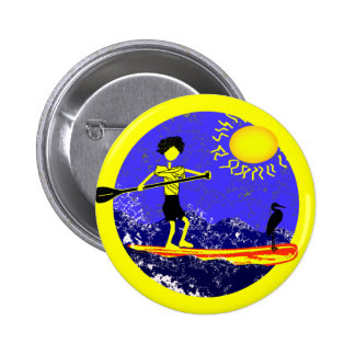 Stand Up Paddle Design Button