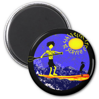 Stand Up Paddle Design Magnets
