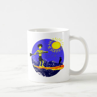 Stand Up Paddle Design Classic White Coffee Mug