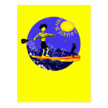 Stand Up Paddle Design Post Card