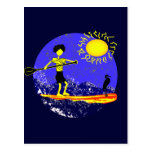 Stand Up Paddle Design Postcard