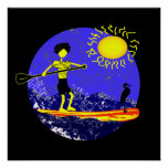 Stand Up Paddle Design Poster