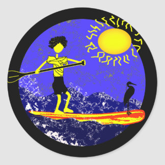 Stand Up Paddle Design Stickers