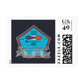Stand Up Paddle Poster Postage