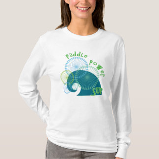Stand Up Paddle Power Wahine T-Shirt
