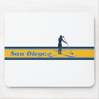 Stand Up Paddle San Diego Mouse Pad