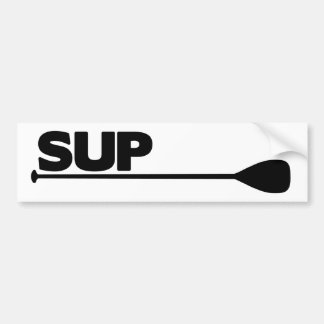 Stand Up Paddle SUP Bumper Sticker