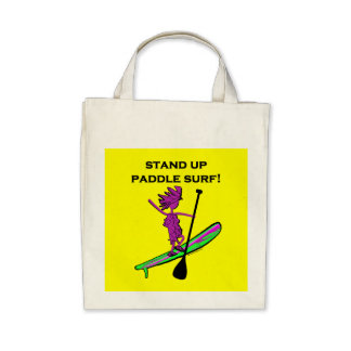 Stand Up Paddle Surf Tote Bags