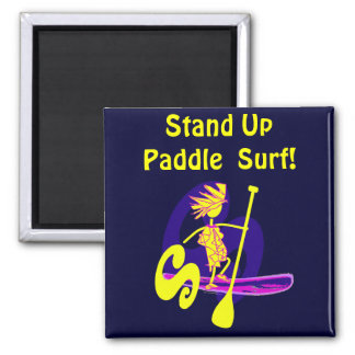 Stand Up Paddle Surf Design Magnet