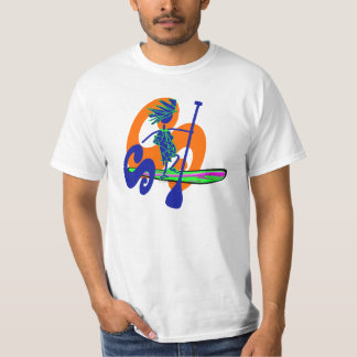 Stand Up Paddle Surf Design T-shirt