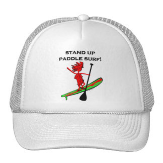 Stand Up Paddle Surf Trucker Hat