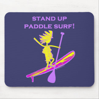 Stand Up Paddle Surf! Mouse Pad