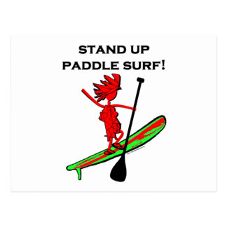 Stand Up Paddle Surf! Postcard