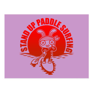 Stand up paddle surfing ポストカード