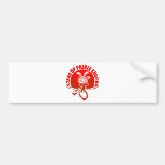 Stand up paddle surfing bumper sticker