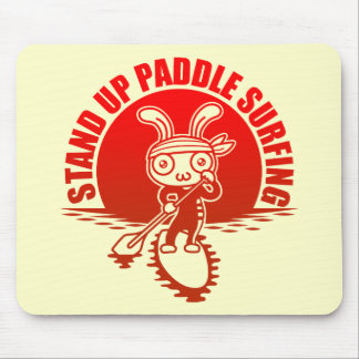 Stand up paddle surfing マウスパッド