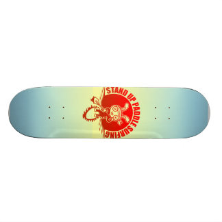 Stand up paddle surfing skateboard deck