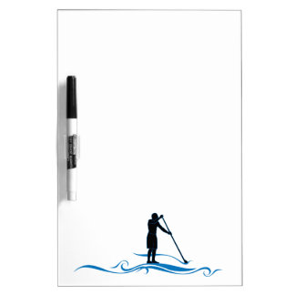 Stand Up Paddle - Waves Dry-Erase Board