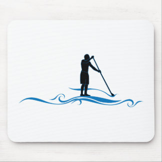 Stand Up Paddle - Waves Mouse Pad