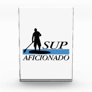 Stand Up Paddleboard Aficionado Acrylic Award