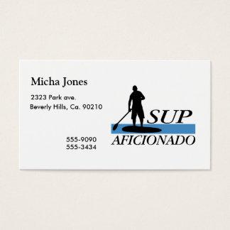 Stand Up Paddleboard Aficionado Business Card