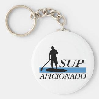 Stand Up Paddleboard Aficionado Keychain
