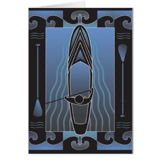 Stand Up paddleboarder Card