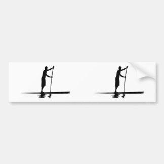 Stand Up Paddleboarder MkI (2 Up) Car Bumper Sticker