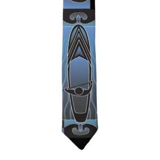 Stand Up Paddleboarder Necktie