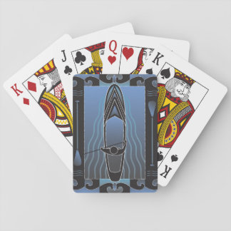 Stand Up Paddleboarder Playing Cards