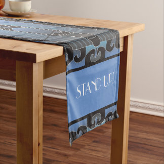 Stand Up paddleboarder Short Table Runner