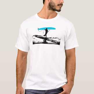 Stand Up Paddleboarding Session Over T-Shirt