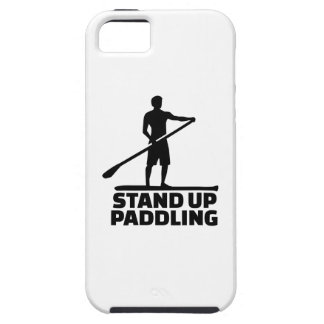 Stand up paddling iPhone SE/5/5s case