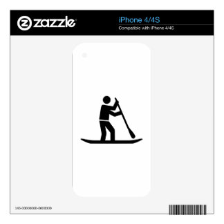 Stand up paddling skin for the iPhone 4