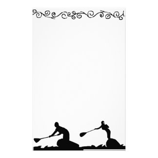 Stand up paddling surfing, Stationary Stationery