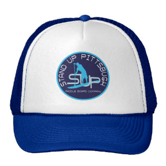 Stand Up Pittsburgh Paddle Board Co Trucker Hat
