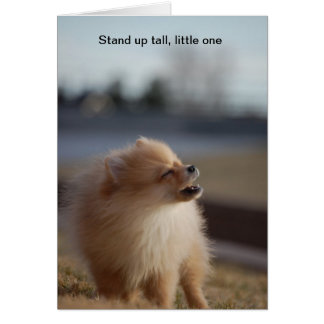 Stand up Tall Card