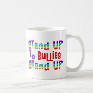 Stand UP to Bullies Classic White Coffee Mug