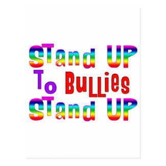 Stand UP to Bullies Postcard
