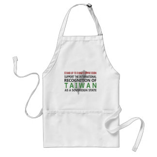 Stand Up To China Apron